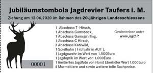 Jubiläumstombola Taufers i.M.
